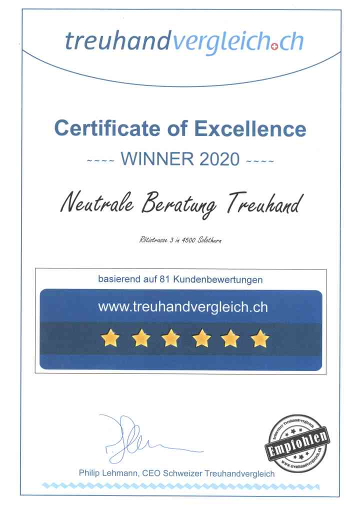 Photos Neutrale Beratung Treuhand GmbH
